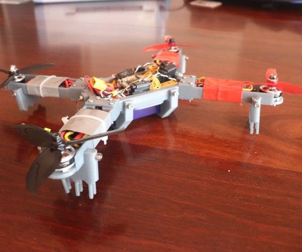 DIY 3d Printed Modular Drone
