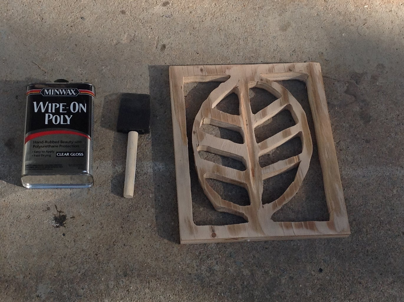 SANDING, PAINTING, AND STAINING