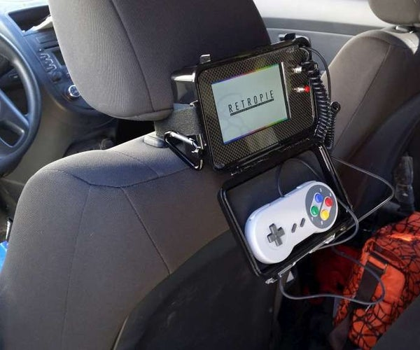 Raspberry Pi Emulator Console for the Backseat