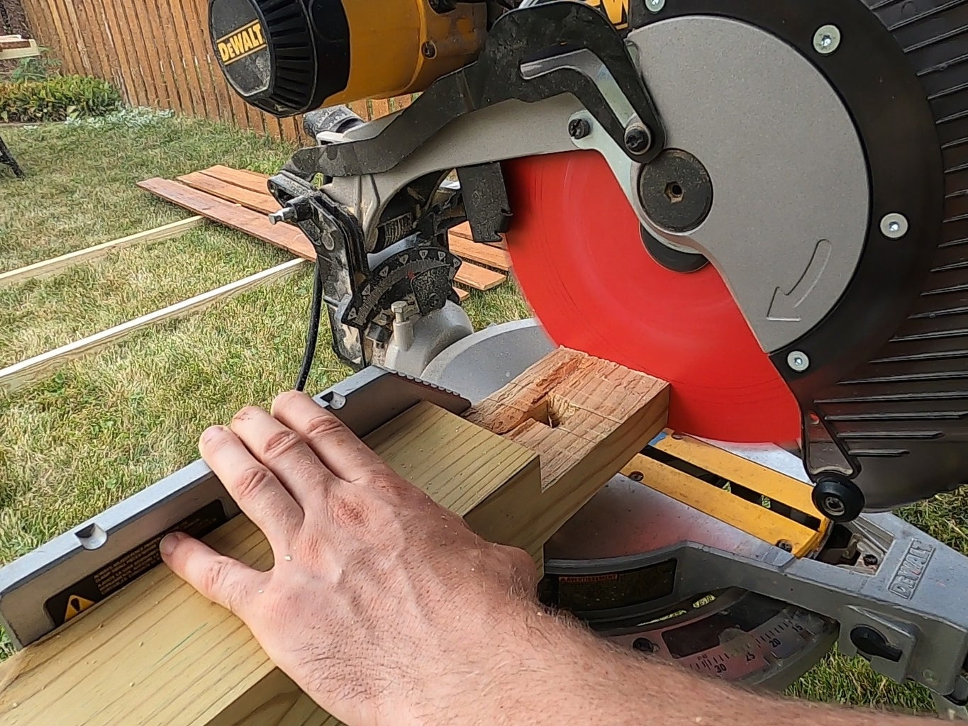 Step 2. Cutting the Lumber to Size