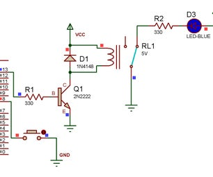 Toggle Switch With Relay Using Arduino