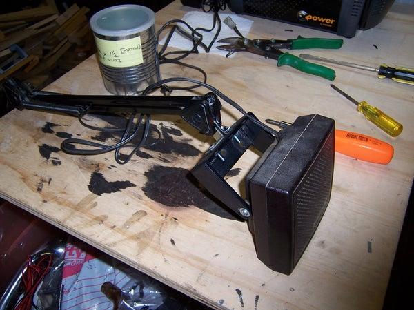 """""""Floating"""" Computer Speaker Mount"""