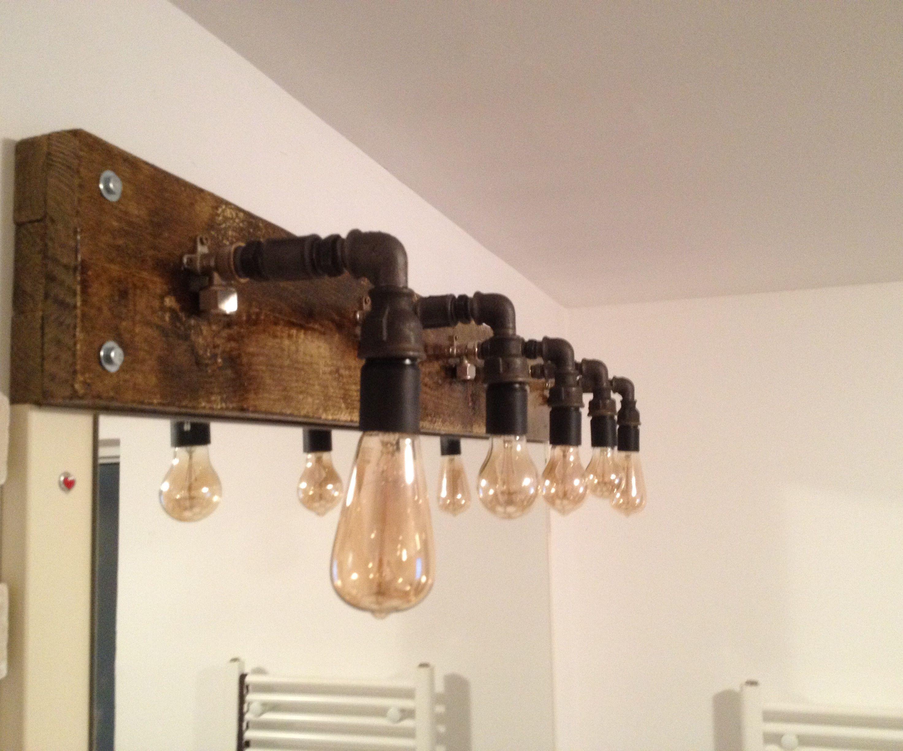 Industrial Bathroom lights