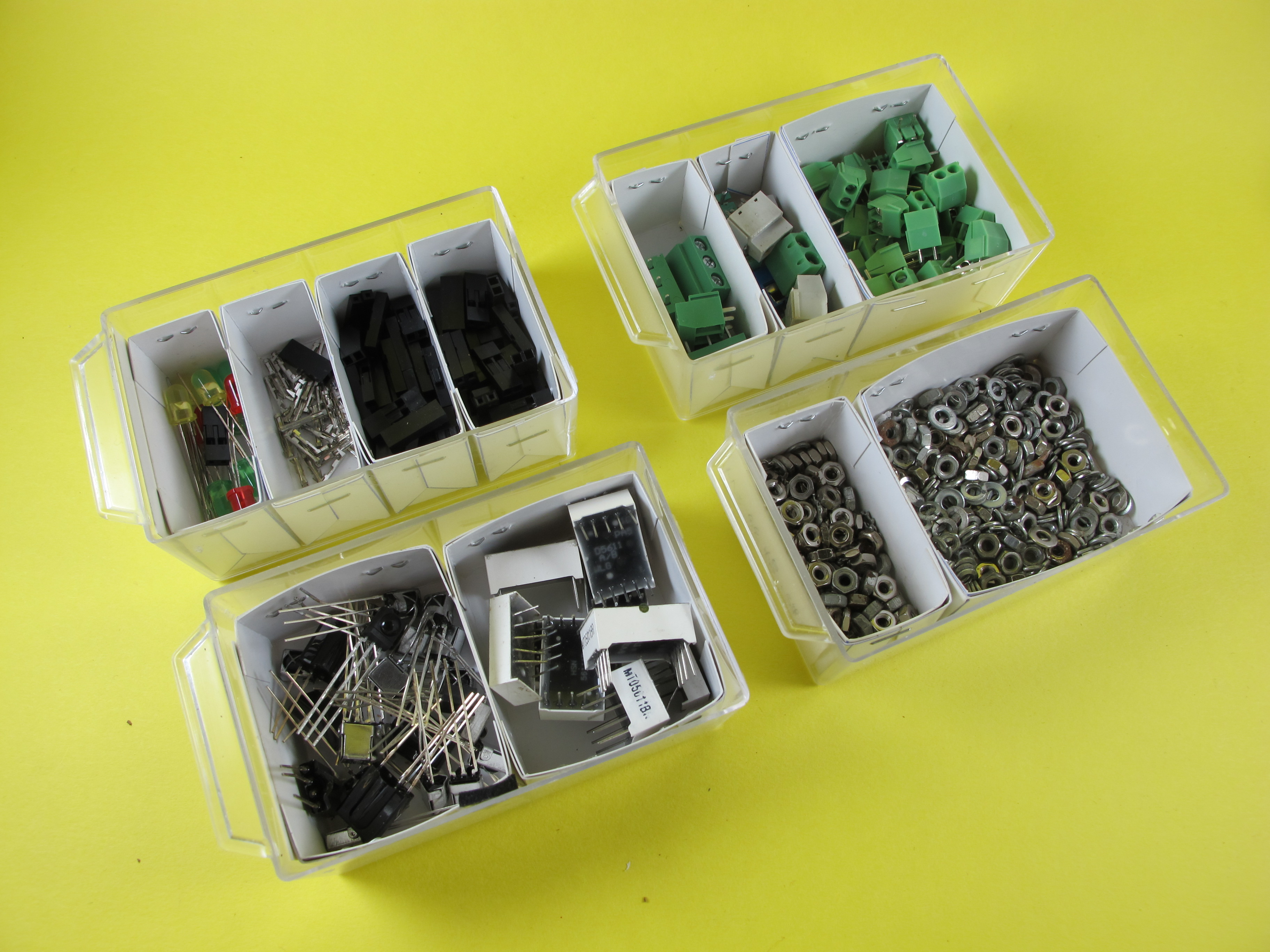 Modify the Electronic Components Organizer