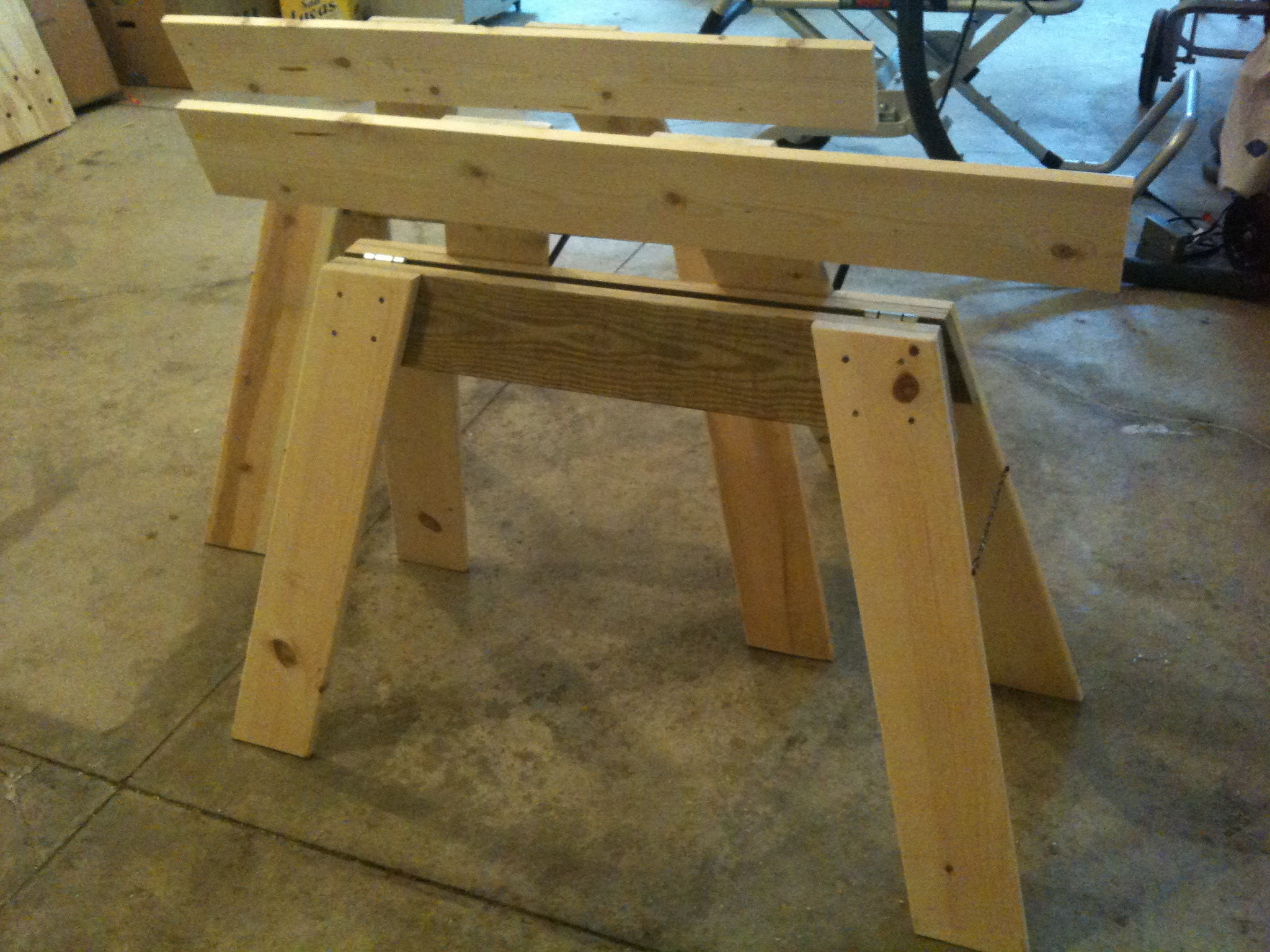 Folding Sawhorse Extensions