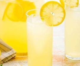 如何制作柠檬水