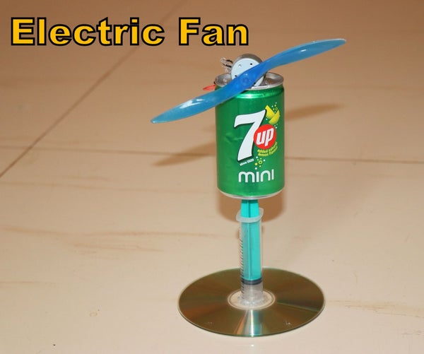 How to Make Small Electric Fan