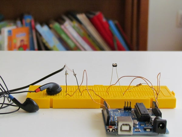 Arduino Optical Theremin