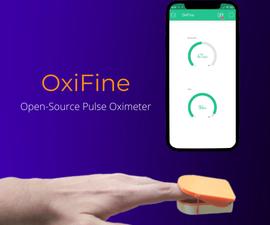 OxiFine - Smart Pulse Oximeter