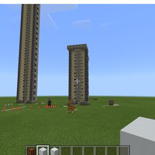 Minecraft Elevator!