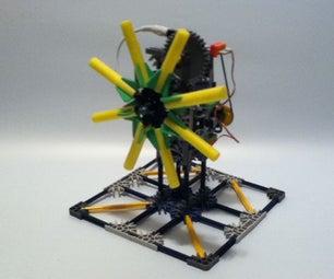 LittleBits K'nex Kinetic Interactive Sculpture