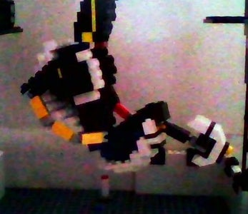 Lego GLaDOS Figure (to Scale)