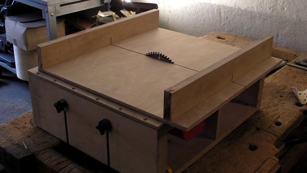 Homemade Table Saw - Part 2 - DIY Sledge,  Runners & Mitre Slots