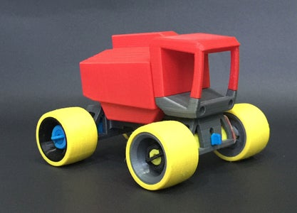 Building XR-35 Toy Truck (3D Printed)