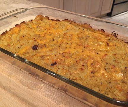 Best Cauliflower Mashed & Twice Baked