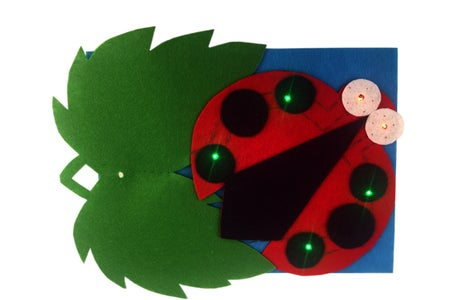 Lilypad Sewable Eletronic Kit - Night-Light Ladybird