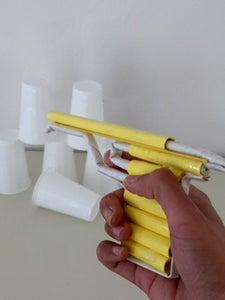 Paper Pistol That Shoots Bullets(paper)