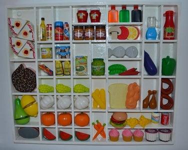 Children's Mini Supermarket (shelves)
