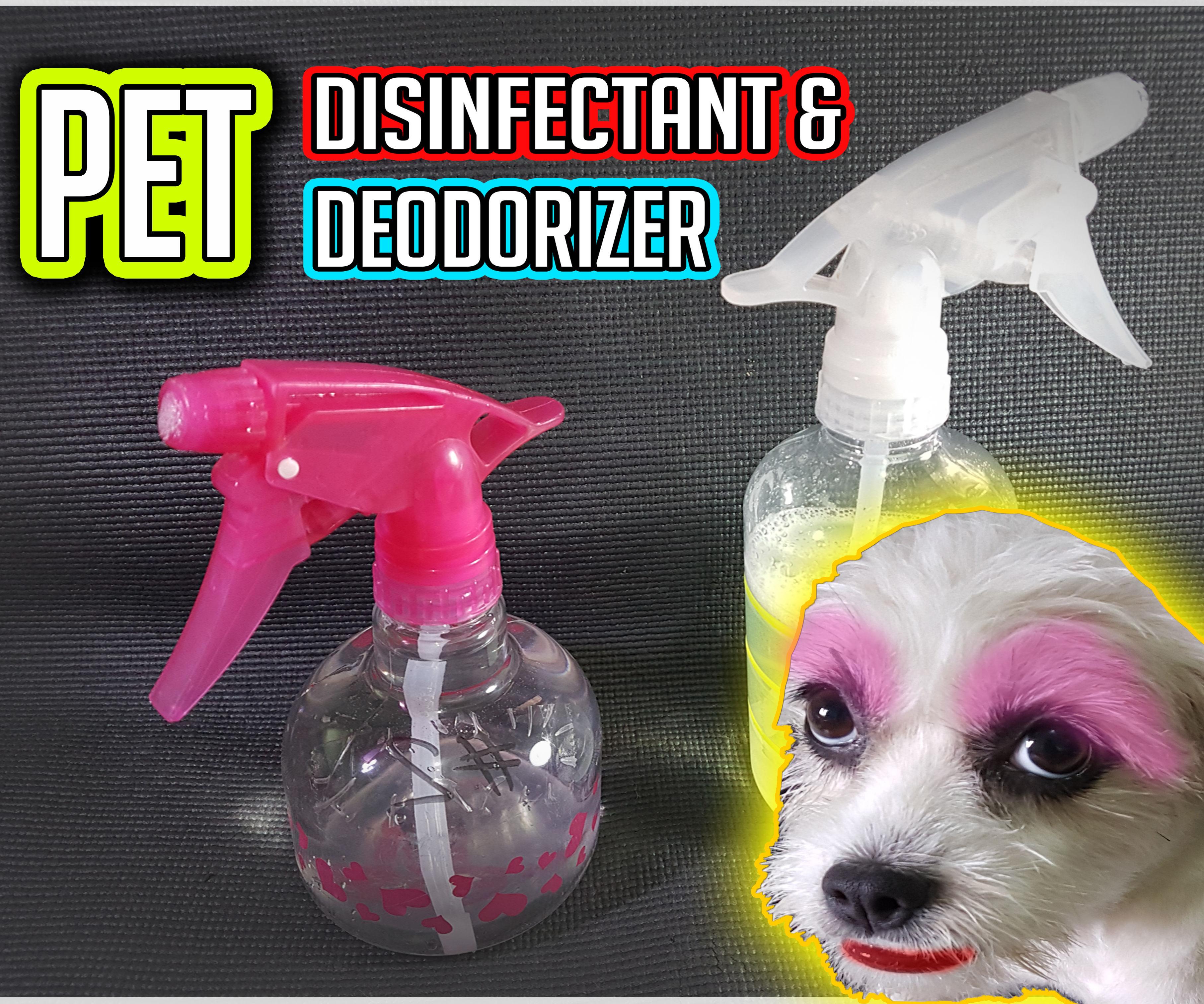 Pet Urine Disinfectant &  Deodorizer