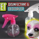 Pet Urine Disinfectant &  Deodorizer