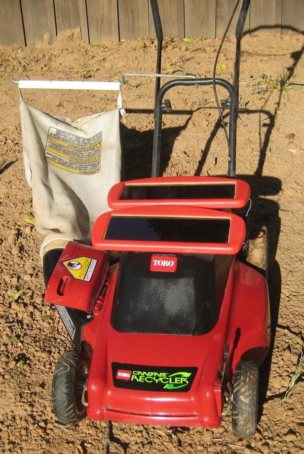 Solar Lawn Mower!