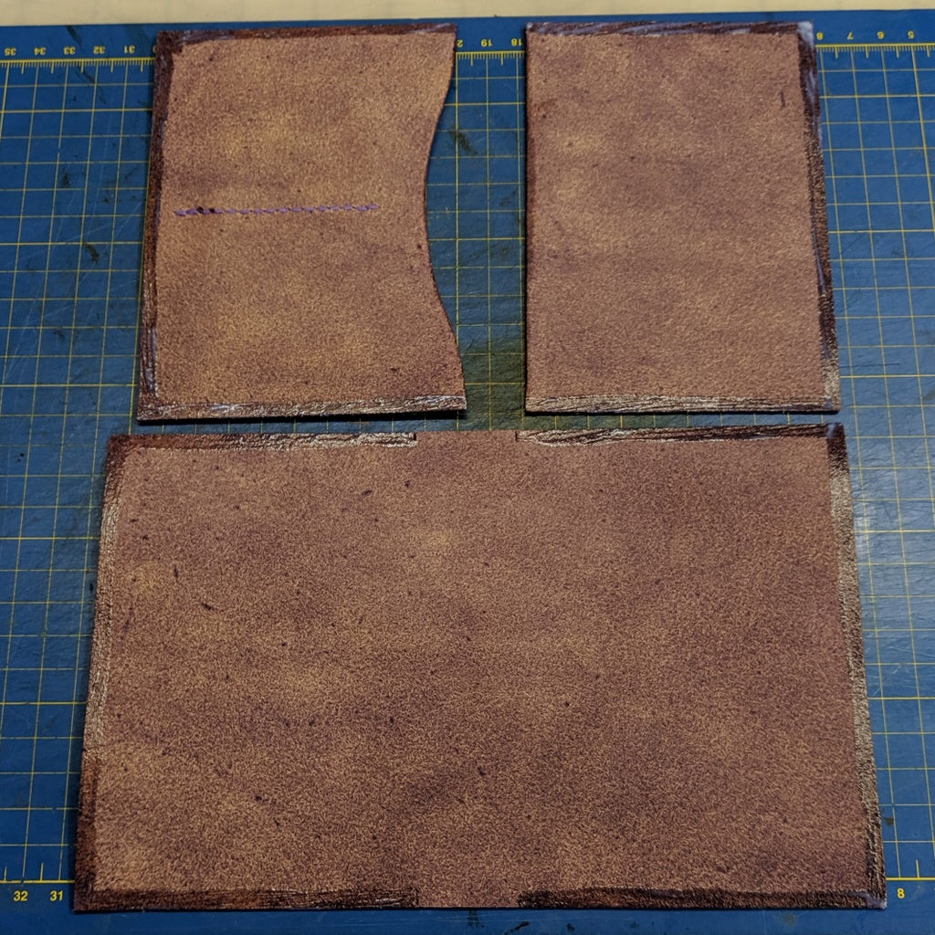 Attach the Inner Pockets to the Exterior Piece