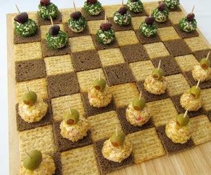 Cheese Ball Checkers