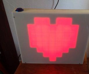 8-bit Wedding LED Matrix