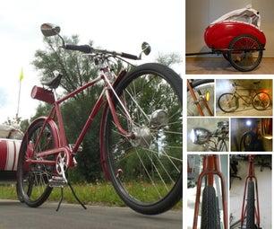 My Vintage Bike and Trailer