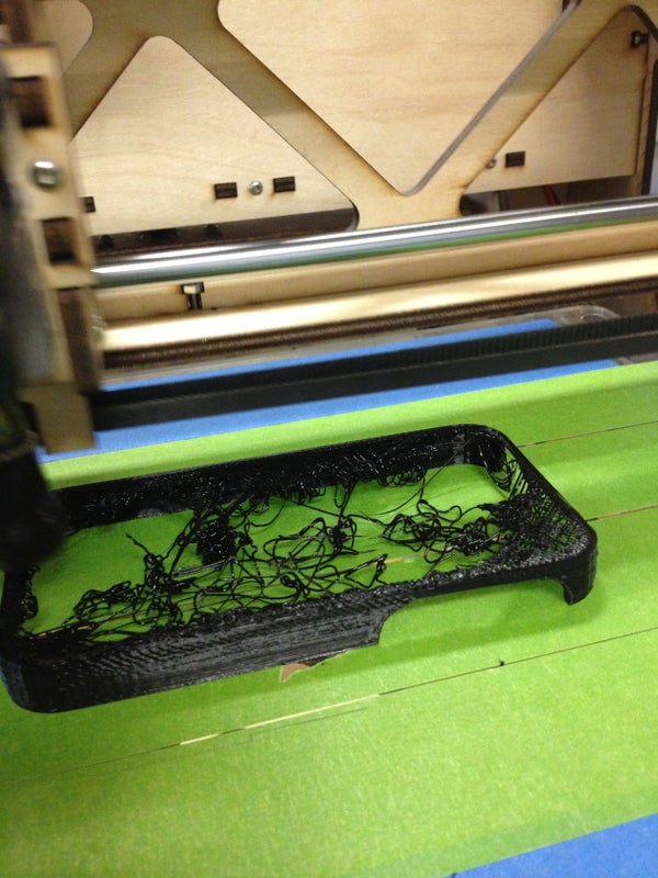 "3D Printing ""Make"" Iphone Case Epic Fail"