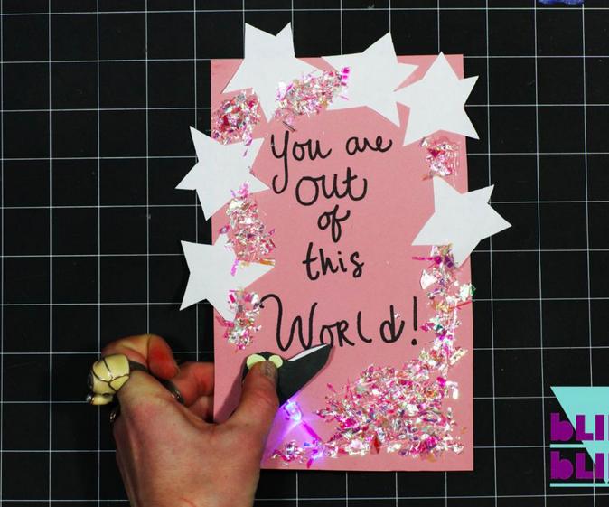 Light-Up Valentine Card