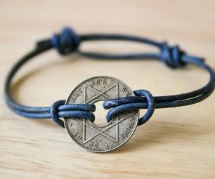 Simple Sliding Knot Bracelet