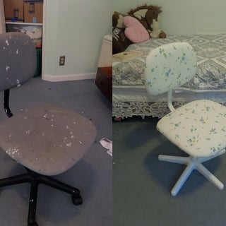 How to Re-Upholster a Swivel Chair