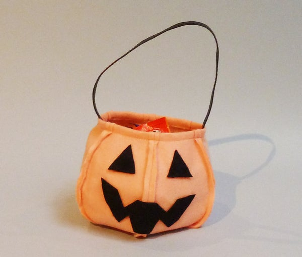 Easy Last Minute Trick or Treat Candy Bag With Pattern