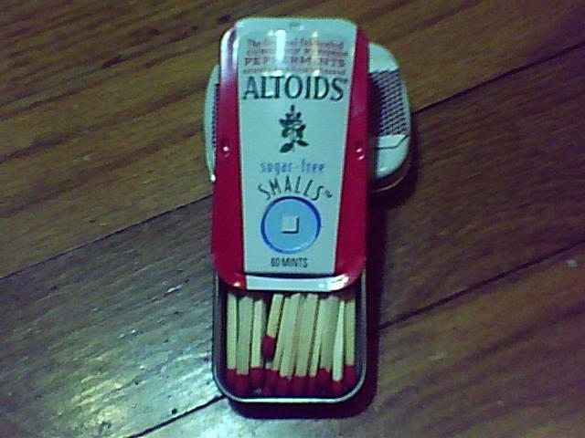 Altoid Matchbox