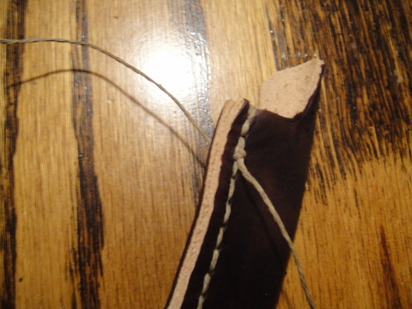 Sewing With the Saddle Stitch
