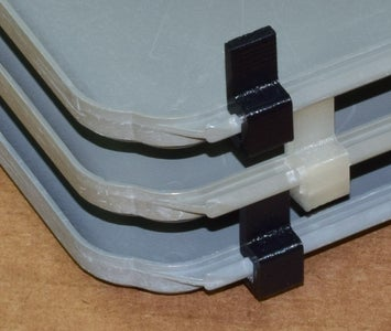 Tray Spacer Clips - First Design Iteration