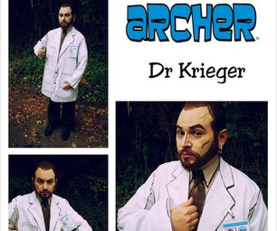 Cell Shaded Doctor Krieger Archer Costume