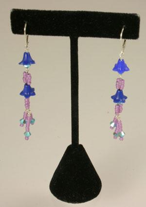 Showering Flower Dangle Earrings