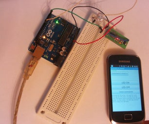 How to control arduino board using an android phone and a bluetooth module