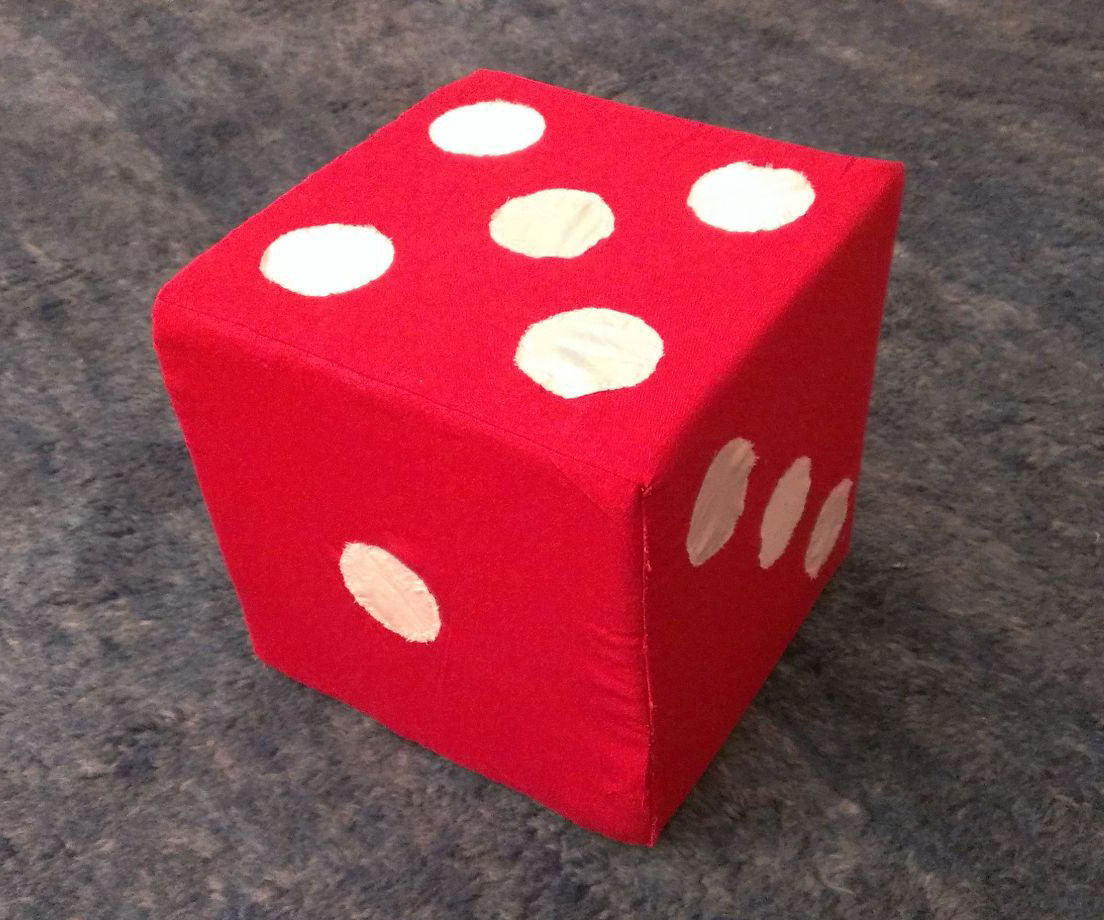 Giant Plush Dice