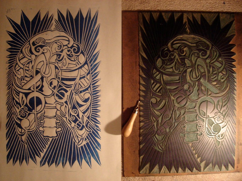 Linoleum Block / Printmaking