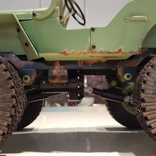 3D Printed Willys RC 4X4
