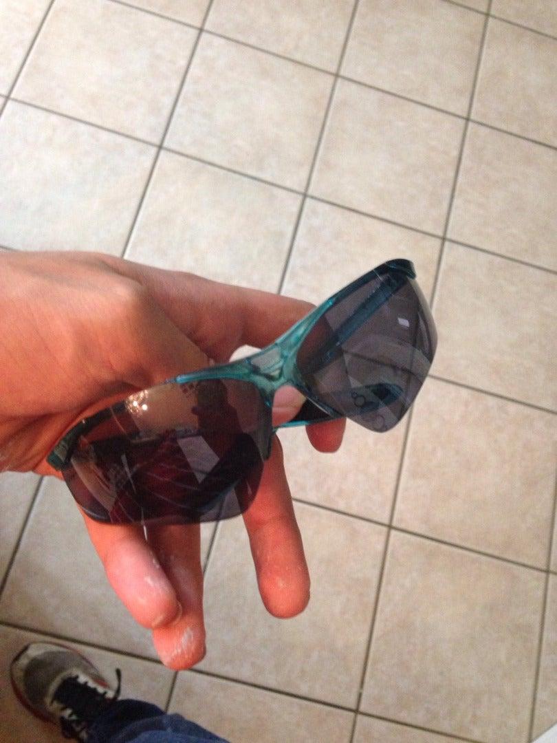 Step: 5 - Hot Glue the Glasses
