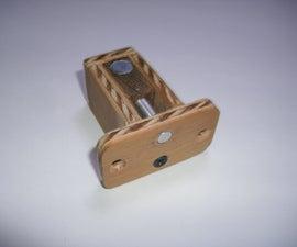 Hidden Magnetic Door Bolt