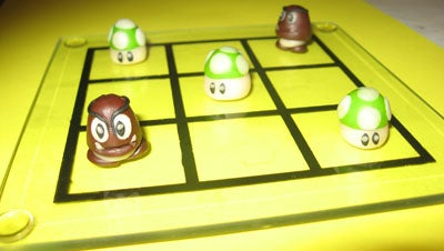Making of ...tic-tac-toe (Mario Bros)