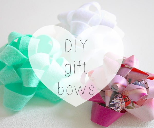 How to Make a Gift Bow
