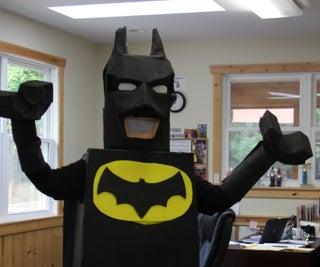 Lego Batman Costume on the Fast & Cheap!