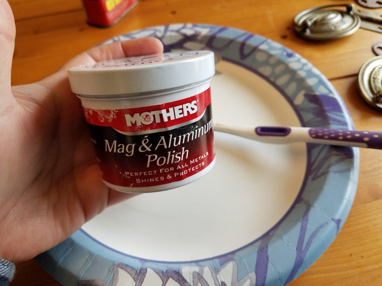 Use Mothers Mag & Aluminum Polish