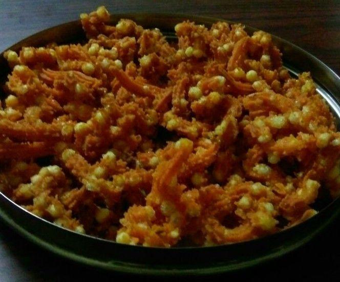 Sago Murukku(crispy Savoury Snacks)
